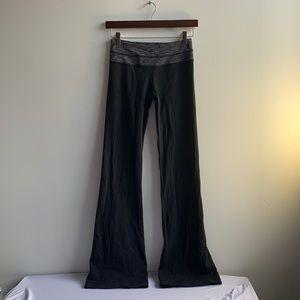 Reversable Lululemon Bootcut Yoga Pants Sz 4